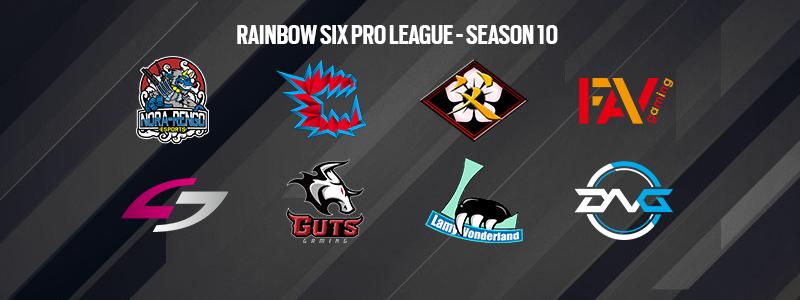 Rainbow Six Proleague Japan Season X