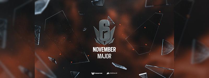 Six APAC Major 2020 November